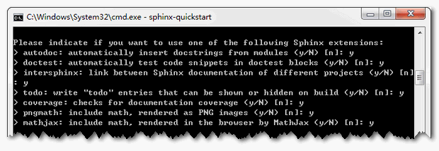 sphinx-create-options